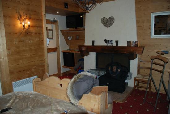 Hotel Les Grands Montets: Chambre 104