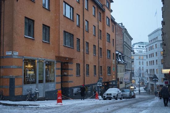 story hotel in the snow bild fr n story hotel riddargatan stockholm tripadvisor. Black Bedroom Furniture Sets. Home Design Ideas
