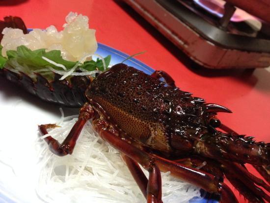 Nakagawa: 伊勢海老の活造り