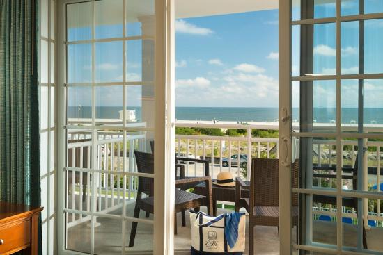 La Mer Beachfront  Inn: The stellar views from our hotel rooms.