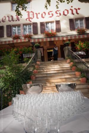 Auberge Au Vieux Pressoir : Vin d'honneur