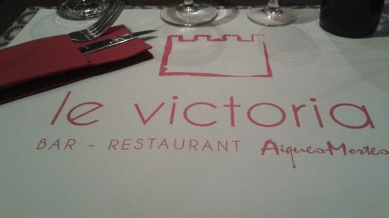 le victoria : set de table