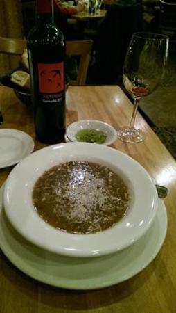 Positano Mediterranean Grill: Cream of Mushroom Soup