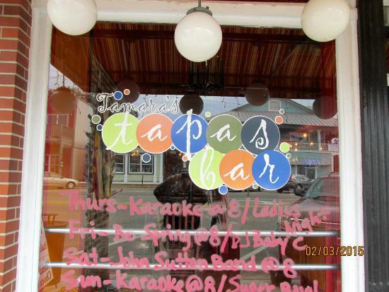 Tamara's Tapas Bar: Store Front