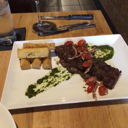 Cafe Dufrain: Argentinian skirt steak