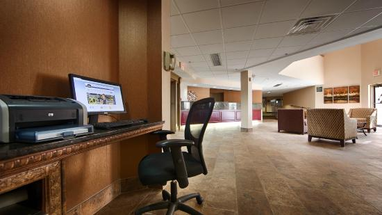 BEST WESTERN Philadelphia South - West Deptford Inn : Business Center