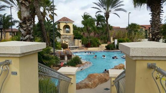 Slide Tower Pool Picture Of Regal Palms Resort Spa Davenport