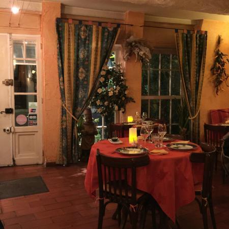 Fleur de Sel: Интерьер ресторана