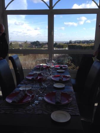 Les Terrasses de Saumur Restaurant : Belle vue !