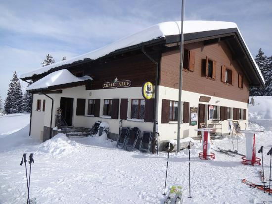 Chalet Neuf : View from outside