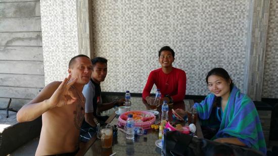 Absolute Scuba Bali: Chilling at Tulamben
