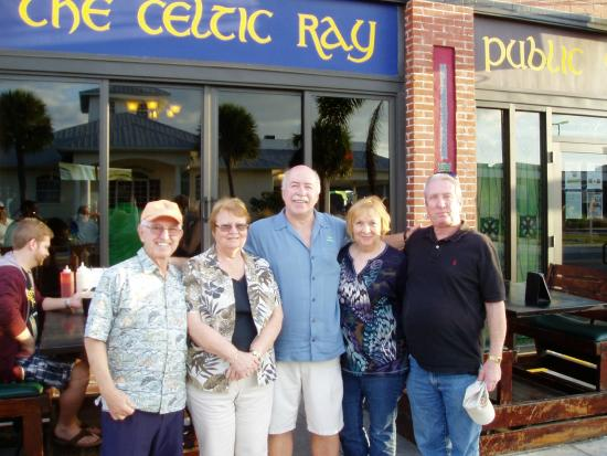 The Celtic Ray Public House: After the show...