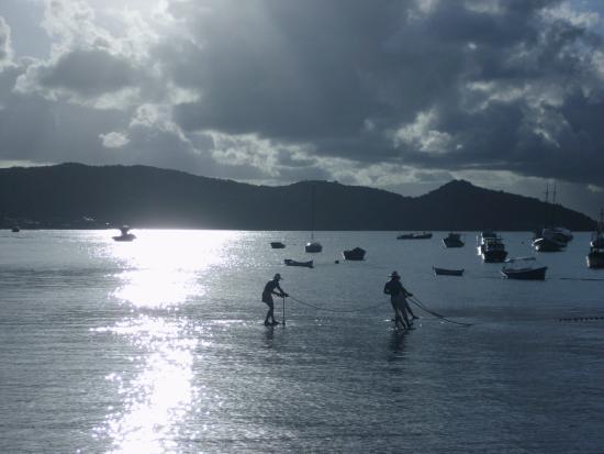 Pousada Villegaignon: Los pescadores