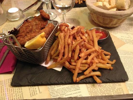 Fish And Chips Picture Of L Ane Qui Tousse Toulouse