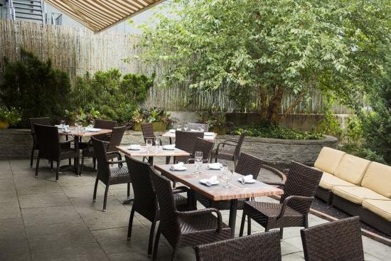 West On Centre: Our Outdoor Patio. Call Ahead For Seating.