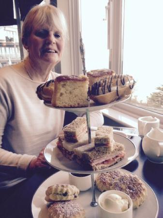 St. Ives Harbour Hotel & Spa: afternoon tea!