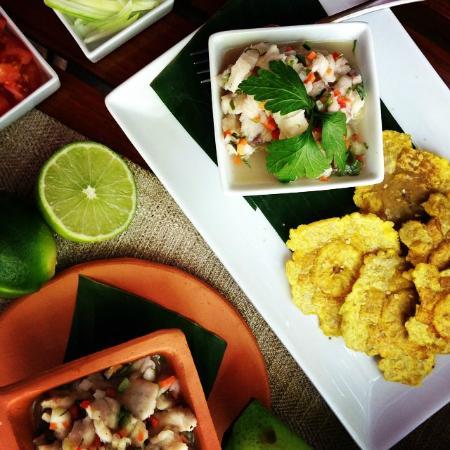 Florblanca Resort: Ceviche