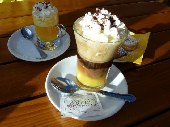 Baita Curona Hütte Seceda: Calimero, Bombardino and (free) cookies