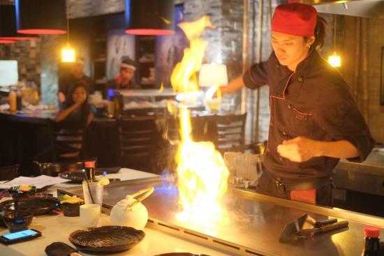 master teppan chef eugene picture of koze teppan grill east el