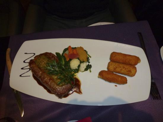 Lounge 1411 alt.: filet de boeuf fondant et savoureux
