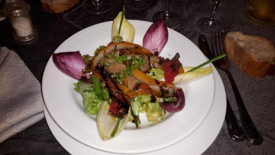Vesoul, França: Un petit aperçu de entrée du moment ! poisson frais sans soucis !  Miam
