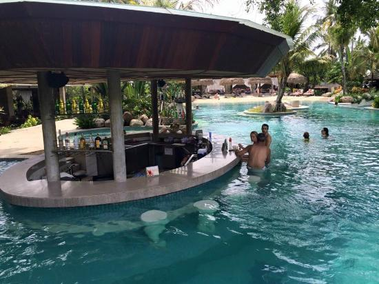 Bali Mandira Beach Resort Spa The Pool Bar