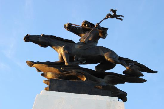 Darhan, Mongolia: Morin Khuur Monument