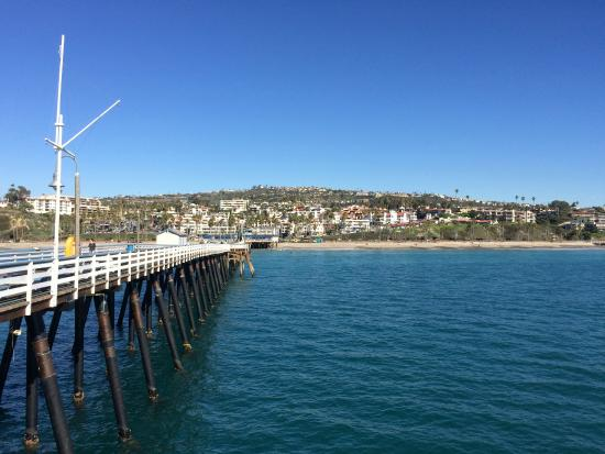 San Clemente, CA: Shore View from Pier