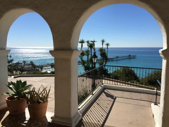 San Clemente, كاليفورنيا: Ocean Porch view of Pier