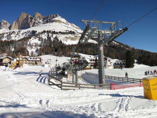 Hotel Diana Welschnofen: Skigebiet Carezza