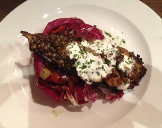 Citation: Baked aubergine - delicious.