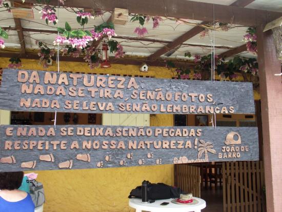Barra do Turvo, SP: frente da pousada