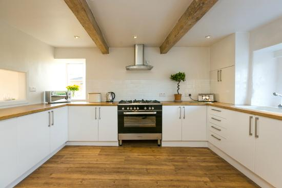 Gisburn, UK: Huntsmans Cottage kitchen