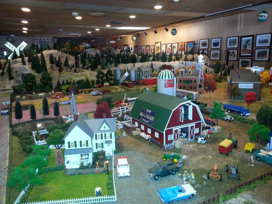 ‪Old Town Model Railroad Depot‬