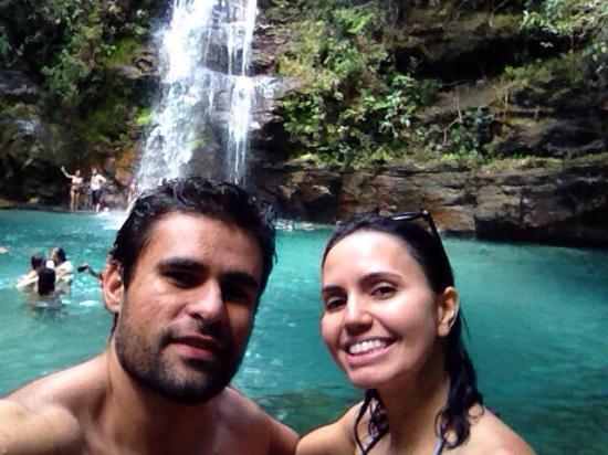 Pousada Sol da Chapada: Cachoeira Santa Bárbara .