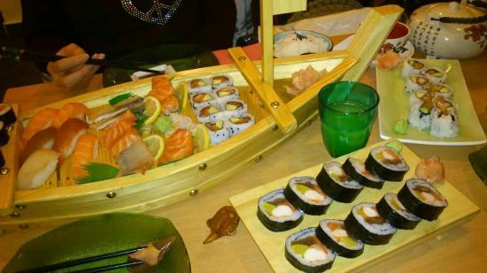 Sushi Zan : Pour 3 personnes
