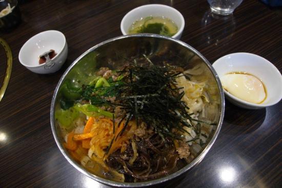 Korean cuisine Dankan