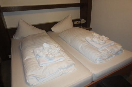 Hotel Elisabeth: Beds in Room 1