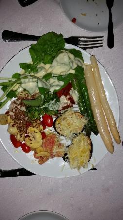 Restaurante Barbacoa : Salad buffet...