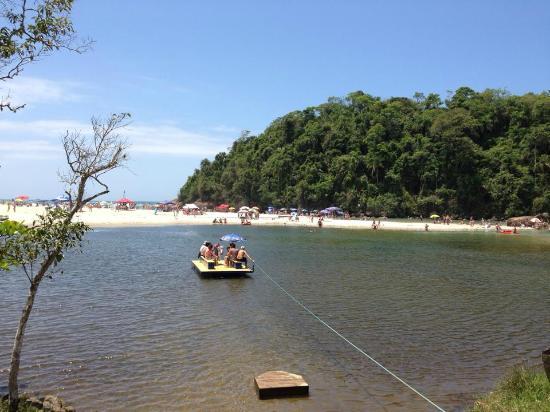 Itamambuca Eco Resort: Trajeto até a praia