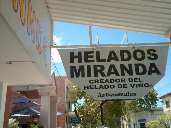 Heladería Miranda: Frente