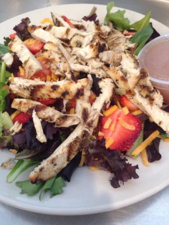 Christoffs Family Dining: Strawberry Walnut Chicken Salad