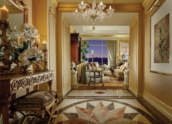 Penthouse Suite Grand Entry Picture of The Venetian Las Vegas