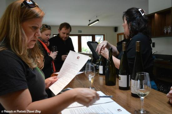 Rock Ferry Wines: Taking notes at Rock Ferry