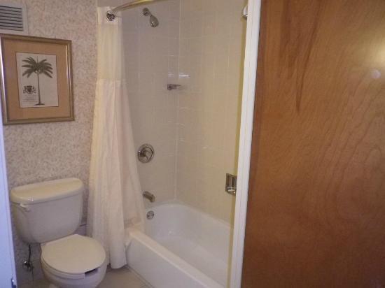 Hilton Garden Inn Ft. Lauderdale SW/Miramar: Shower and toilet