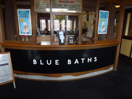 Blue Baths : Reception area