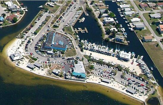 Inn on the Gulf: Aerial View