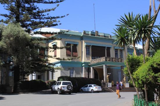 Ethnological Museum : Museu Etnográfico/Museu e Biblioteca do Instituto de Estudos Etíopes - Addis Ababa, Etiópia