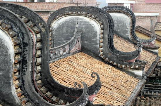 Guangdong, China: De qing wulong Village
