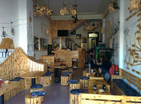 Dalat Xua va Nay Hotel: Cafetería de la planta baja